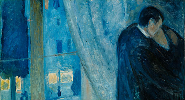 Munch - Kiss by the Window