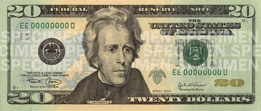 20 dolares