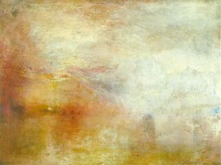 Turner - Sun setting