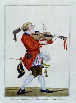 Cantante París 1789