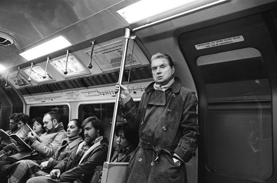 Francis Bacon en el metro