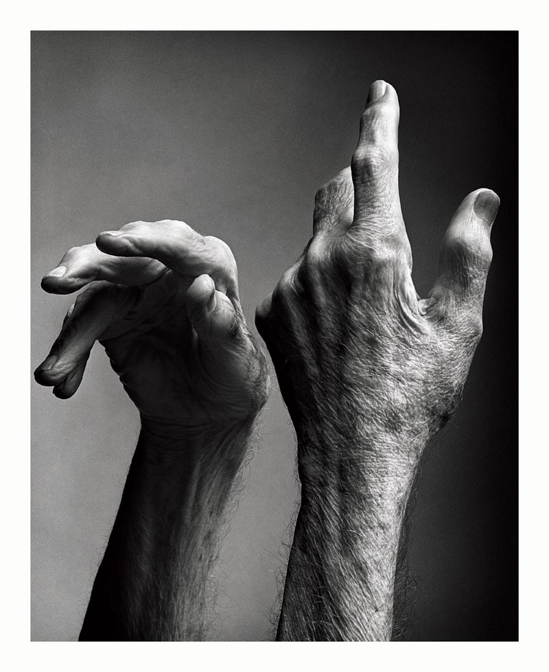 Mark Seliger - Manos de Merce Cunningham