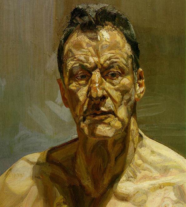 Lucien Freud - Autorretrato