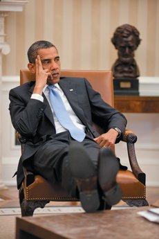 Obama - Pete Souza White House
