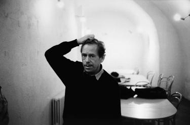 Havel en negociaciones de 1989