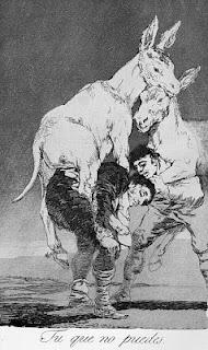 Goya - tu que no puedes