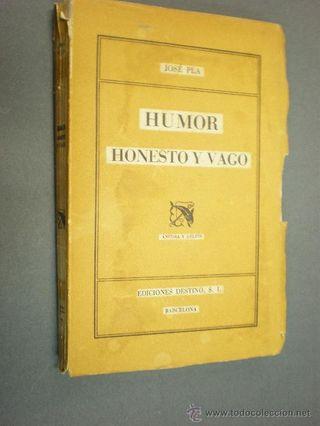 Pla - humor honesto y vago