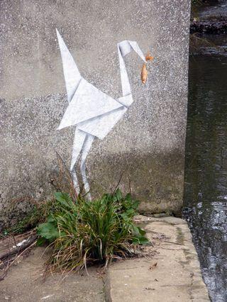 Banksy - Origami