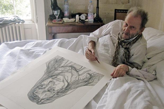 Lucian-Freud-in-bed